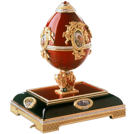 The Enchanted Red Egg